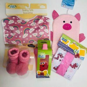 Pink Baby Beginnings - 5 items